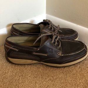 Sperry leather Topsider